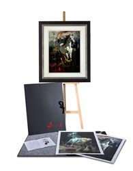 Portfolio Volume I by Christian Hook - Folio sized 22x30 inches. Available from Whitewall Galleries